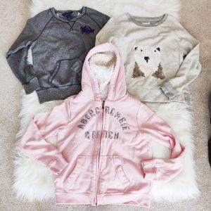 Ralph Lauren, Crewcuts and Abercrombie sweaters